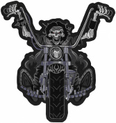 Lethal Threat Decals DEATH RIDER PATCH 11X11.5 LT30050