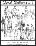Long and Short Mediaeval Tunics Pattern