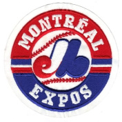 Montreal Expos Primary Team Logo Jersey Patch