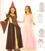 Burda 2463 Princess, Mediaeval Costume for Girls, Fairy Size 6 to 12