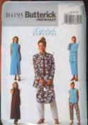 Butterick Fast & Easy Lifestyle Wardrobe #B4195 Sizes