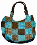Daisy Kingdom Easy Cut and Sew Reversible Hobo Tote Kit, Tanzania