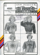 Stretch & Sew Pattern 4085 ~ Painted Desert T-Shirt ~ Bust 30-46