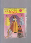 McCall's Costumes 8895 Sewing Pattern ; Halloween Disney Princess Snow White, Cinderella, Witch, Rapunzel, Belle