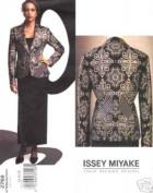 Issey Miyake 2768 Pattern Suit Size 8-10-12