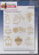 Amazing Designs Christmas Designs In Gold Collection 1 Machine Embroidery Designs ADC1155