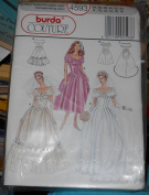 Burda Couture Bridal Pattern Multi Sized -- 8 - 18 -- 4593