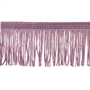 Chainette Fringe 10-Yard Polyester Fringe Rolls for Arts and Crafts, 5.1cm Long, Pink