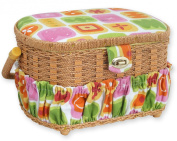 Michley Sewing Kit with Sewing Basket, 41-Piece