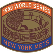MLB World Series Patch - 1969 Mets, ,