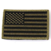 Blackhawk - Patch, American Flag, Subdued w hook and loop