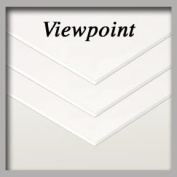 Viewpoint Acid-Free Foam Backing 5-Pack 24×80cm - 0.3cm Thick - White