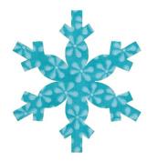 Accuquilt GO! Snowflake Fabric Cutting Die