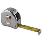 Left Handed Right-to-left Read Retractable 25' Tape Measure