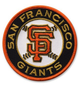 San Francisco Giants Combo 2012 MLB World Series Champions and SF Round Logo Jersey Patches