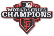San Francisco Giants 2012 World Series MLB Baseball Jersey Sleeve Patch - 2 PATCH TWINPACK