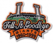 2 Patch Pack - San Francisco Giants Tell It Goodbye Stadium Closing Candlestick Park 1960-1999 Patch