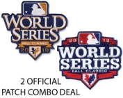 San Francisco Giants Combo 2010 World Series and 2010 World Series Jersey Patches