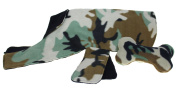 Haan Crafts Alpine Fleece Reversible Dog Coat Sewing Kit, Camouflage