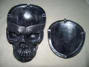 Death Defying Skull Ashtray
