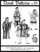 Early Tudor Men's Garments, C. 1495-1537 Pattern