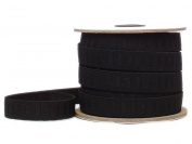 Conrad Jarvis Designer's Choice Elastic No Roll Reel Black 3/4x 20yd 20 Yards