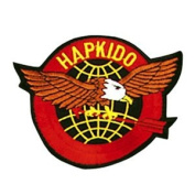 Hapkido Eagle Patch - 10cm Dia. - 10 Pack