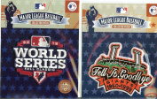 2012 San Francisco Giants World Series Patch Combo with 1999 Giants Tell it Goodbye Patch - 100% Official MLB Licenced