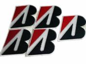Bridgestone Tyre Formula F1 Logo Racing Patches Limited 5pcs Embroidered Patch SIZE : 5.7cm x 7.6cm