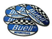 Buell Motorcycles Sport Patches Limited 5pcs Embroidered Patch SIZE : 5.7cm x 10cm