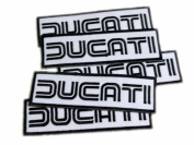 Ducati Motor GP Super Bikes 696 Patches Limited 5pcs Embroidered Patch SIZE : 3.2cm x 11cm