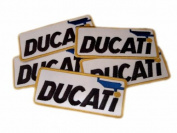 Ducati Motor GP Superbike Patches Limited 5pcs Embroidered Patch SIZE : 3.8cm x 9.5cm