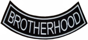 Military & Saying Rocker Patches (Brotherhood) Bottom Rocker