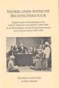 Nederlands-Indische Rechtsliteratuur [DUT]