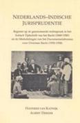 Nederlands-Indische jurisprudentie [DUT]