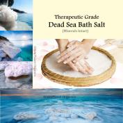 Coarse Dead Sea Bath Salt 0.9kg (Purest Form Therapeutic Grade) From The Pristine Dead Sea