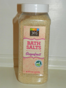 Whole Foods 365 Grapefruit Bath Salts Therapy Bath Soak, Mineral, Stress & Tension, 0.9kg