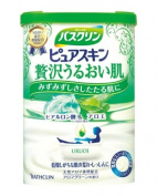 "Bathclin Pure Skin ""Uruoi"" Luxurious Smooth Japanese Bath Salts with Jojoba and Aloe - 600g"