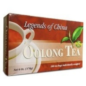 Legends Of China Oolong Tea, 100 Bags