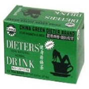 Dieters Tea China Green, 12 Bags