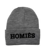 Homies Beanie(grey-black)