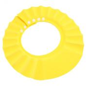 Soft Baby Kids Children Shampoo Bath Shower Cap Hat Wash Hair Shield Yellow