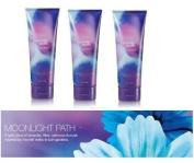 Bath & Body Works Signature Collection Moonlight Path Gift Set ~ Body Cream Lot of 3