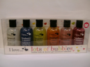 I Love Lots of Bubbles Miniature Bubble Bath & Shower Collection 100ml