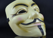 Halloween V for Vendetta Mask Guy Fawkes Mask Anonymous Rubie's DC Comics