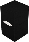 Ultra Pro Satin Tower Black Deck Box