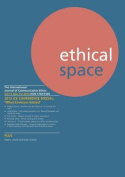 Ethical Space Vol.11 Issue 1/2