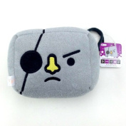To-Fu Oyaku Grey Pirate Bath Sponge Loofah