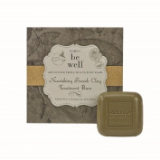 Simply Be Well Organics (Plant Based) Set of Four French Clay Treatment Bar Soap Set