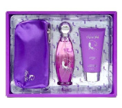 Kitty Girl - Our Impression of Katy Perry Purr Gift Set, Eau De Parfum 100ml, Body Lotion 90ml & Little Kitty Girl Purse
